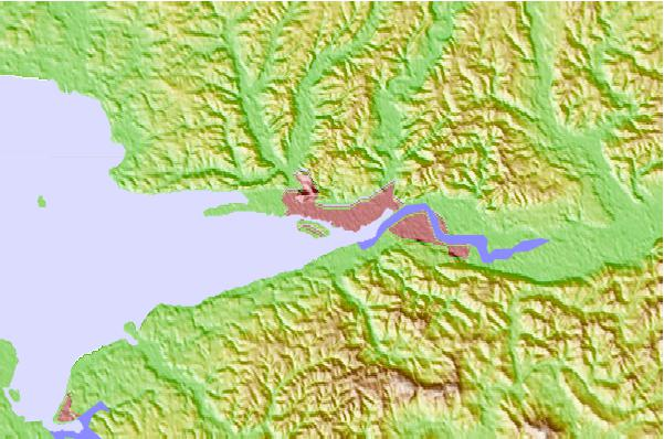 Tide stations located close to Aberdeen, Washington