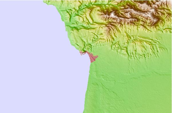 Tide stations located close to Agadir, Morocco