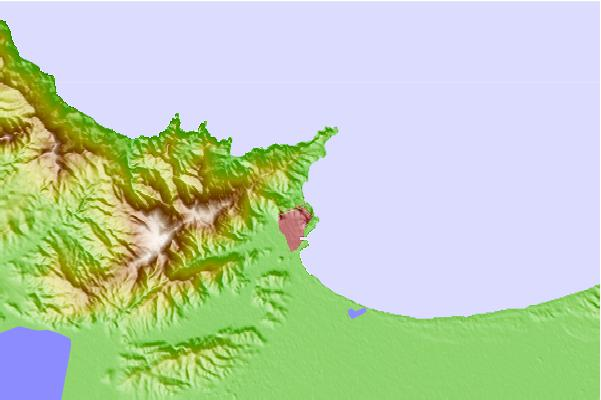 Tide stations located close to Annaba