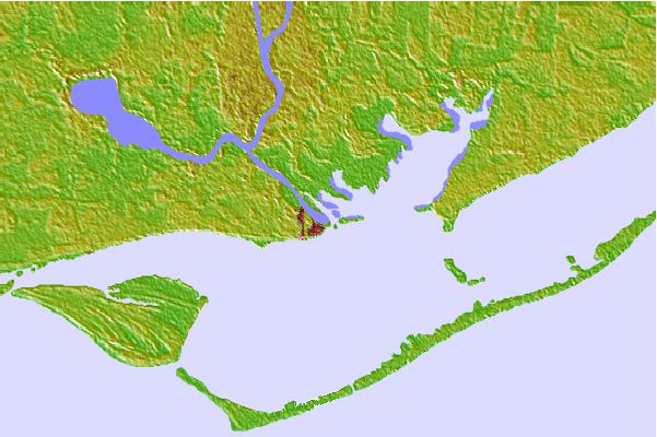 Tide stations located close to Apalachicola, Apalachicola Bay, Florida