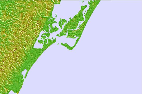 Tide stations located close to Assateague Beach, Toms Cove, Chincoteague Bay, Virginia