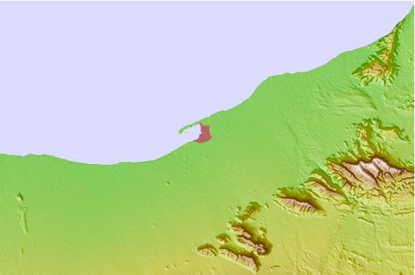 Tide stations located close to Berbera, Somalia