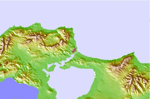 Tide stations located close to Bizerte