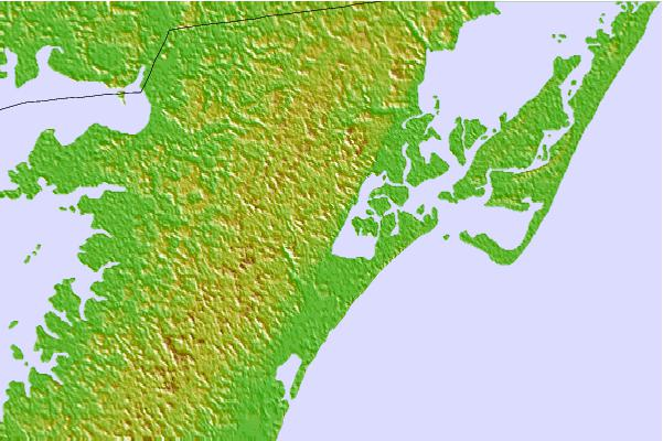 Tide stations located close to Bogues Bay, Chincoteague Inlet, Chincoteague Bay, Virginia
