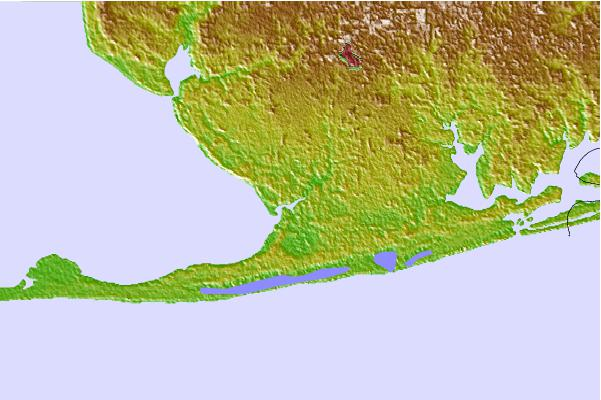 Tide stations located close to Bon Secour, Bon Secour River, Alabama