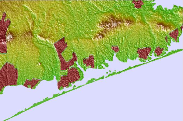 Tide stations located close to Center Moriches