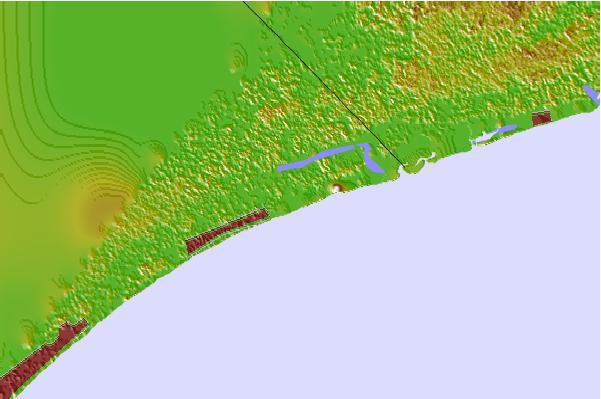 Cherry Grove Inside South Carolina Tide Station Location Guide