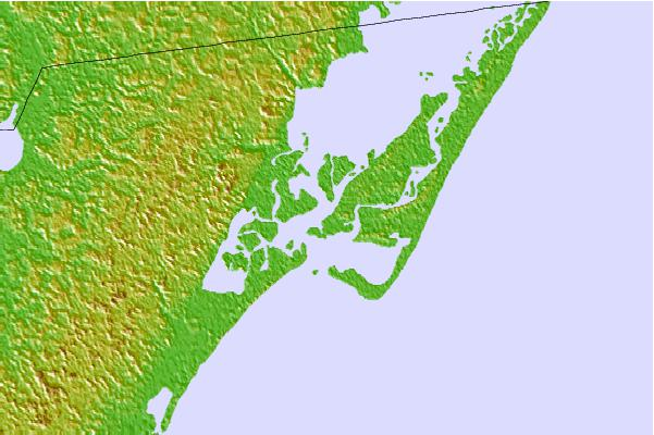 Tide stations located close to Chincoteague Channel, South End, Virginia