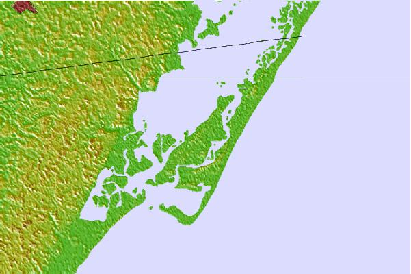 Tide stations located close to Chincoteague Island, Oyster Bay, Chincoteague Bay, Virginia