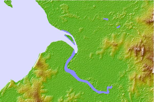 Tide stations located close to Daly River, Australia