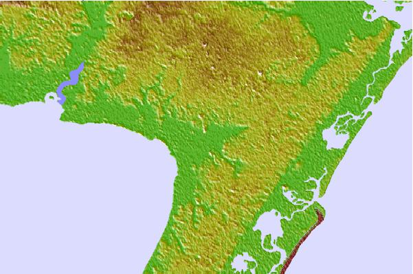 Tide stations located close to Dennis Creek, 2.5 nautical miles above entrance, Delaware Bay, New Jersey