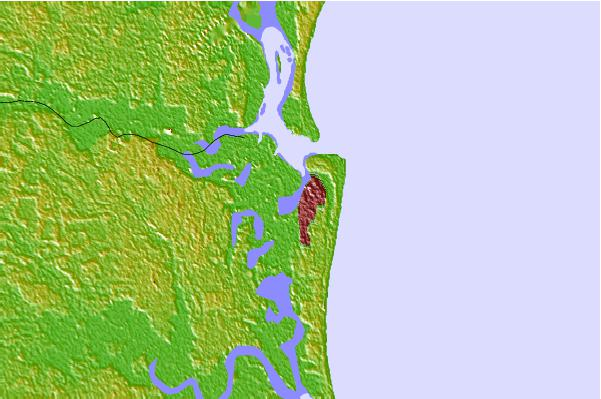 Tide stations located close to Fernandina Beach, Amelia River, Florida