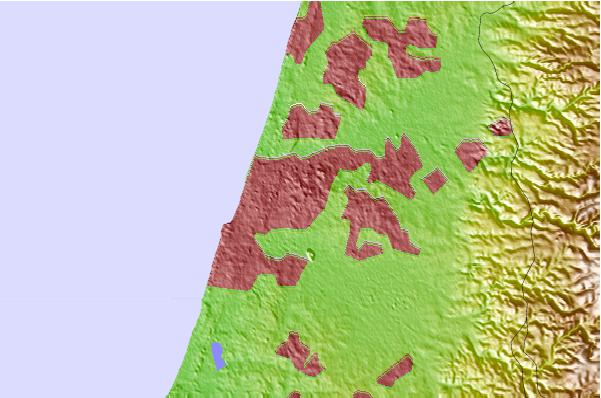 Tide stations located close to Giv`atayim
