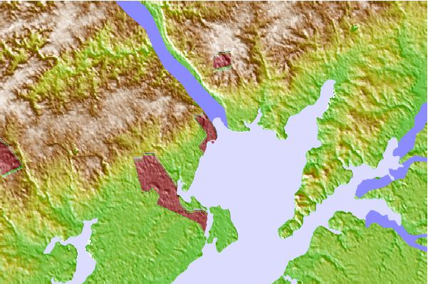 Tide stations located close to Havre de Grace, Susquehanna River, Maryland