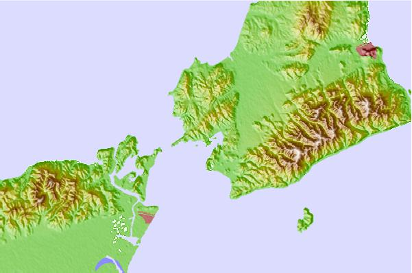 Tide stations located close to Hukura, Hyogo, Japan