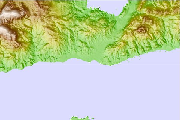 Tide stations located close to Ierapetra