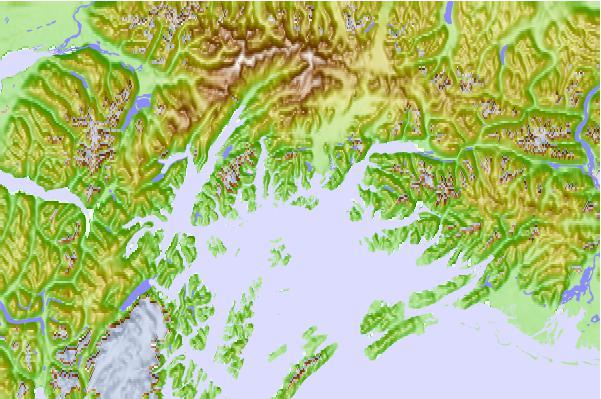 Eshamy Lagoon, Alaska Tide Station Location Guide
