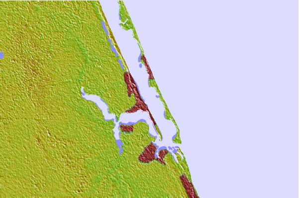 Tide stations located close to Jensen Beach, Indian River, Florida