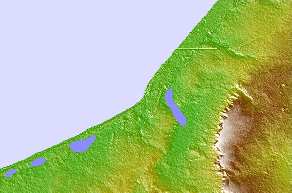 Tide stations located close to Kayar
