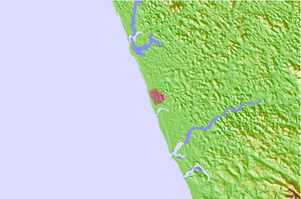 Tide stations located close to Calicut