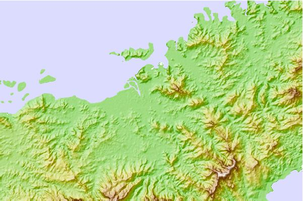 Tide stations located close to Labasa