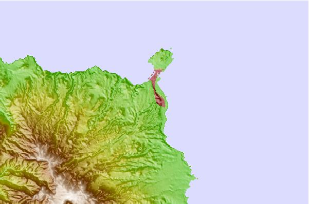 Tide stations located close to Canarias