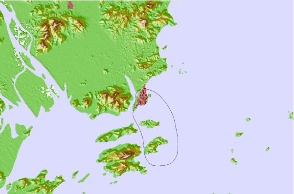 Macau China Tide Station Location Guide - Location of china