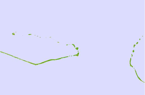 Tide stations located close to Majuro Atoll, Marshall Islands