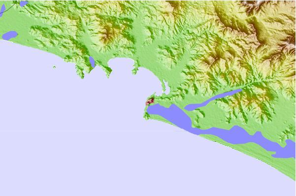 Manzanillo Colima Mexico Tide Station Location Guide