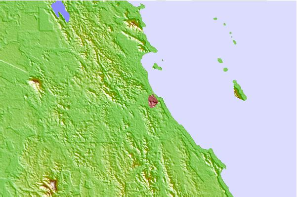 Tide stations located close to Mersing