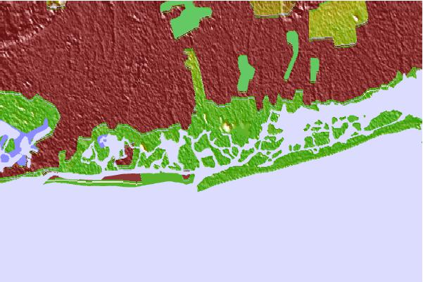 Tide stations located close to Neds Creek, Long Island, New York