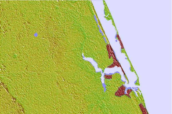 Tide stations located close to North Fork, Saint Lucie River, Florida