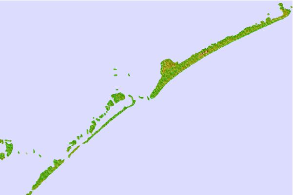 Tide stations located close to Ocracoke Inlet, North Carolina