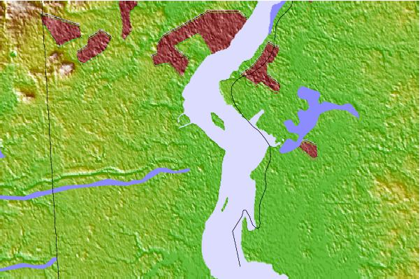 Tide stations located close to Pea Patch Island, Bulkhead Shoal Channel, Chesapeake and Delaware Canal, Delaware