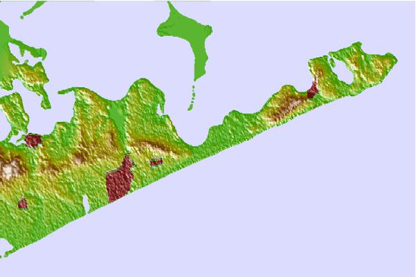 Tide stations located close to Promised Land, Napeague Bay, Long Island Sound, New York