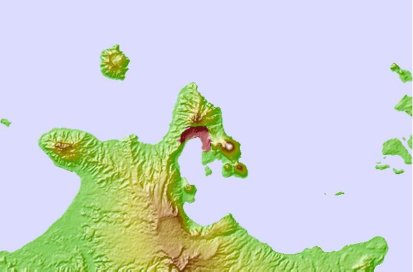 Tide stations located close to Rabaul, Papua New Guinea
