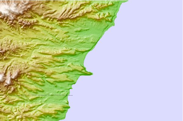 Tide stations located close to Rada Tilly