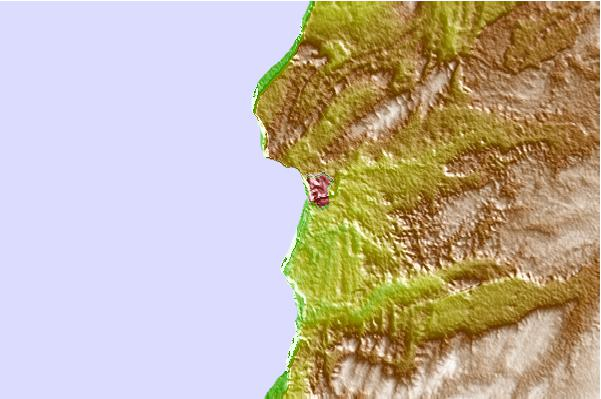 Tide stations located close to Safi