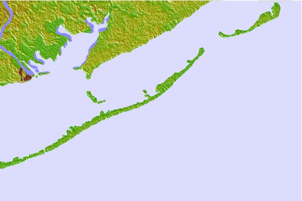 Tide stations located close to Saint George Island, East End, Florida