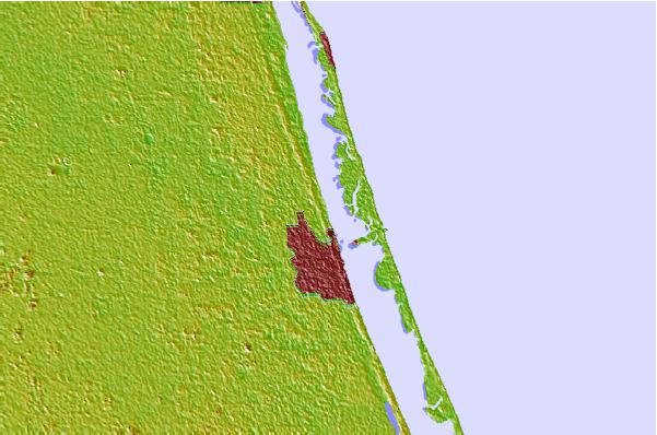 Tide stations located close to Saint Lucie, Indian River, Florida