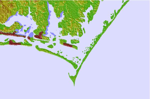 Tide stations located close to Shell Point, Harkers Island, North Carolina
