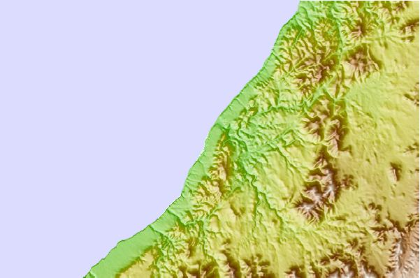 Tide stations located close to Sidi-Ifni