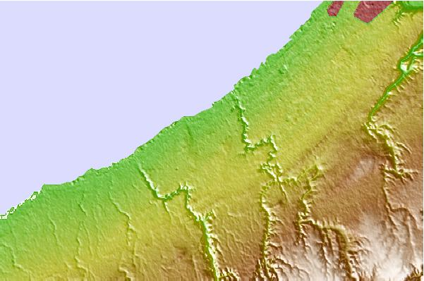 Tide stations located close to Skhirat