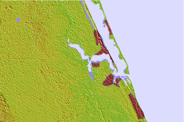 Tide stations located close to Stuart, Saint Lucie River, Florida