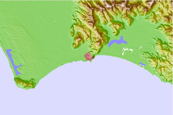 Tide stations located close to Terracina