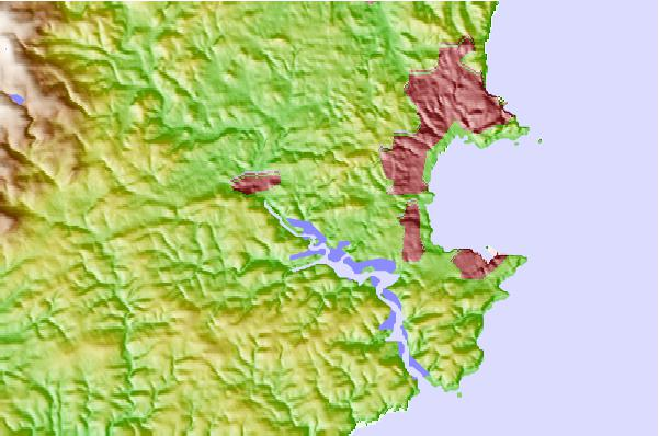 Tide stations located close to Totnes