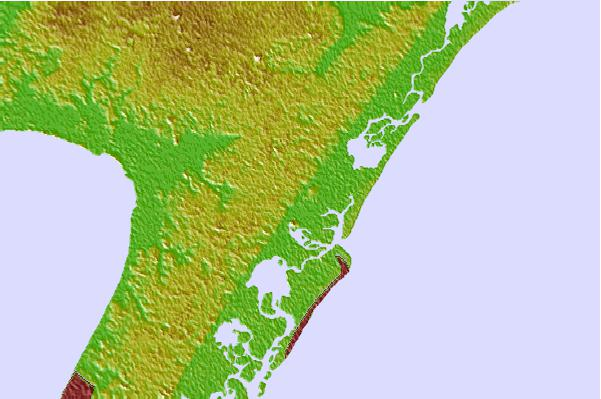 Tide stations located close to Townsend Sound, New Jersey