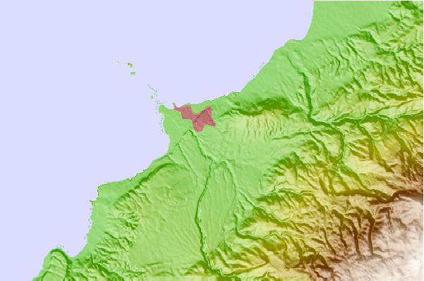 Tide stations located close to Tripoli