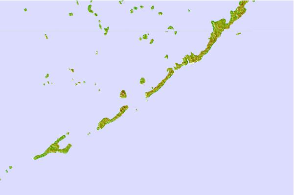Tide stations located close to Upper Matecumbe Key (west end), Hawk Channel, Florida