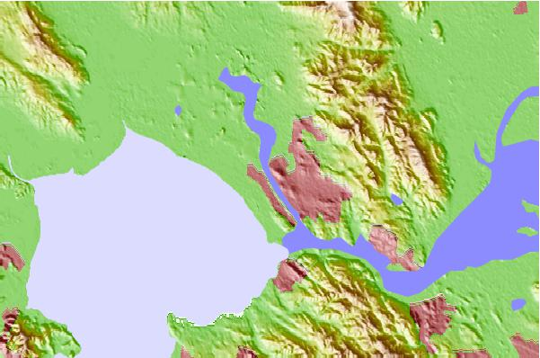Tide stations located close to Vallejo, Mare Island Strait, California